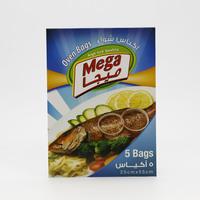 Mega Oven Bags 25 cm x 55 cm x 5 Pieces