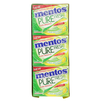 Mentos Pure Fresh Chewing Gum Melon Lemon 33.6g x12
