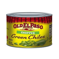 Old El Paso Chili Peppers Green Choped 198GR