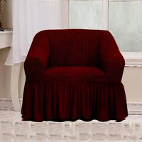 Tendance's Sofa Cover 1 Seater Burgundy