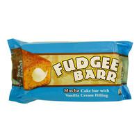 Fudgee Bar Mocha Cake Bar with Vanilla Cream Filling 39gx10