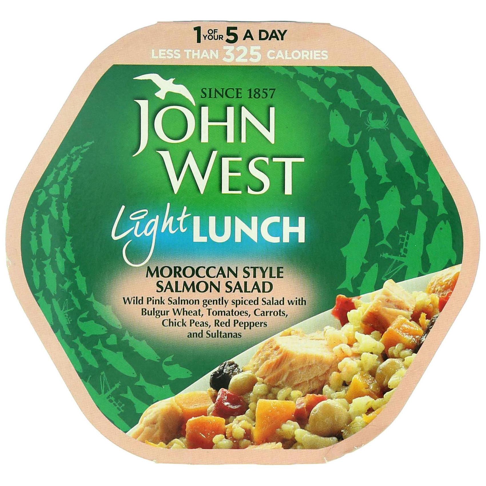 JOHN WEST SALMON LIGHT LUNCH 220G