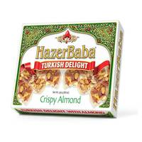 Hazer Baba Turkish Delight Crispy Almond 250g