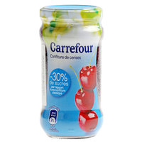 Carrefour Cherry Light Jam 340g