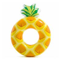 INTEX Inflatable Swimming Ring Float 117 X 86 Cm Pineapple