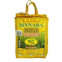Sinnara Gold XXL Extra Classic Steam Pure Basmati Rice 10Kg