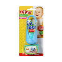 Nuby Tie N' Toss Diaper Bag With 1 Dispenser