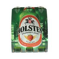 هولستن شراب شعير بنكهة الفراولة 330 مل × 6