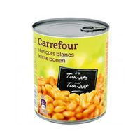 Carrefour Beans White With Sauce Tomato 800GR