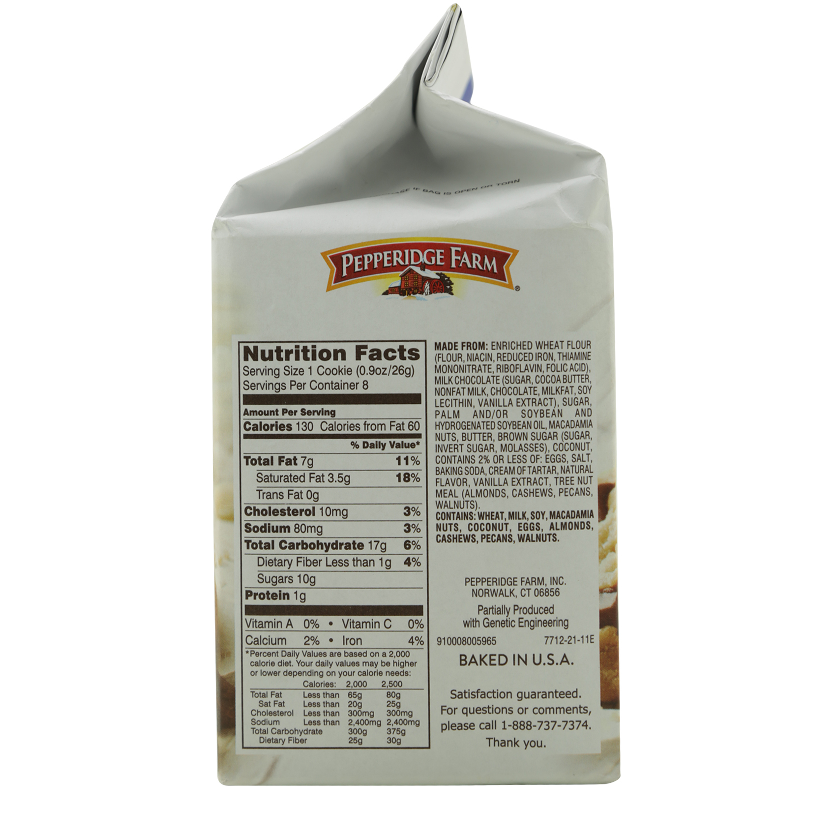 PERPPERIDGE SAUSALITO BISCUITS 206G