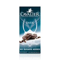 Cavalier Chocolate Bar Dark No Sugar 85GR