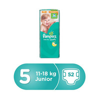 Pampers Diapers  Active Baby Jambo Pack Junior 52 Pieces