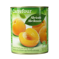 Carrefour Apricot Fruit In Light Syrup 850g