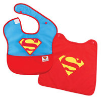 Bumkins SuperBibs with Cape Superman