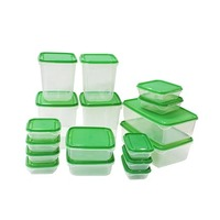 Glass Salsa Set 17 Pieces