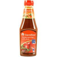 كارفور كاتشاب طماطم عبوة 340 جرام