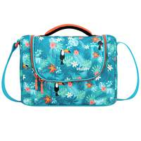 Delsey School 2018 Isotherm Lunch Bag Turquoise Tropical