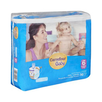 Carrefour Panty Diapers XL +16KG 36 Sheets
