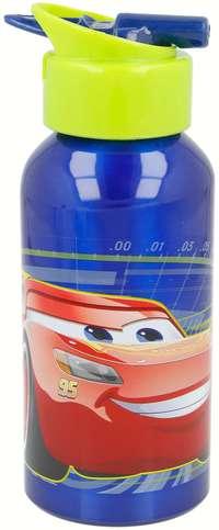 Stor Alum Botl Erg Sip Cars 3 400Ml