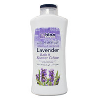 Bio Skincare Lavender Bath And Shower Crème 750ml