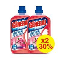Der General Floor Cleaner Rose 750ML X2 -30%