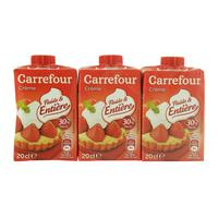 Carrefour Fresh Cream 200mlx3