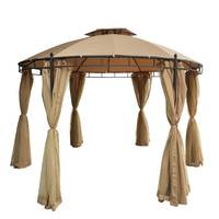 Paradiso Steel Gazebo Round (Delivered In 7 Business Days)