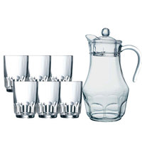 Arcopal Roc Water Jug With 6 Tumbler