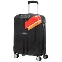 American Tourister-Track Lite Orange-Stripe-78Cm
