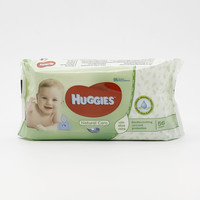 Huggies Baby Wipes Pure with Aloe 64 Pieces