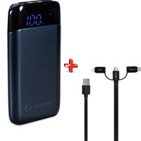 Cellairis Power Bank Shake 10000mAh + 3 in 1 Cable