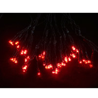Indoor Lv Bouquet 60 Red Led Lightcha - 12 Bunch Of 5Led With Flashes N17