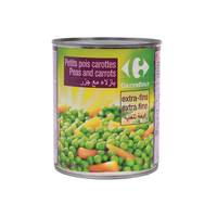 Carrefour Peas And Carrot 800 Gram