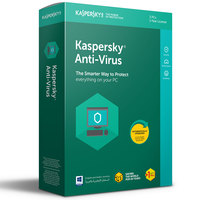 Kaspersky Antivirus 2018 3+1 User