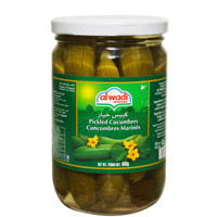 Al Wadi Pickled Cucumbers 600g