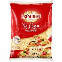President Shredded Mozzarella Cheese 900g