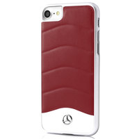Mercedes Case IPhone 7 Plus Classic Leather Red