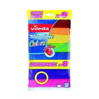 Vileda Microfibre Roll 8 Pieces