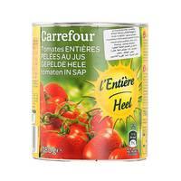 كارفور طماطم مقشرة مع عصير  1 كيلو