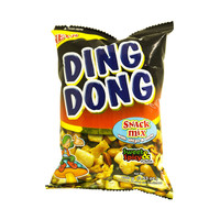 Ding Dong Snack Mix With Chips & Curls Sweet & Spicy Flavor 100g
