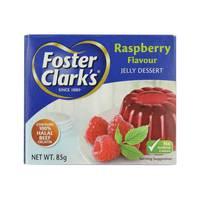 Foster Clarks Raspberry Flavour Jelly Dessert 85 g