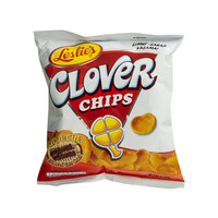 Leslies Clover Chips Barbecue Flavored Corn Snack 55g