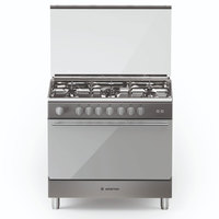 Ariston 90X60 Cm Gas Cooker BAM951MGSM