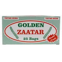 Golden Thyme Herb Zaatar 25 Tea Bags