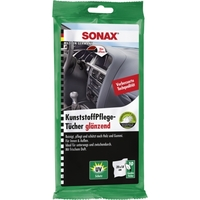 Sonax Wipes Plastic Care Pack Of 10 Pieces