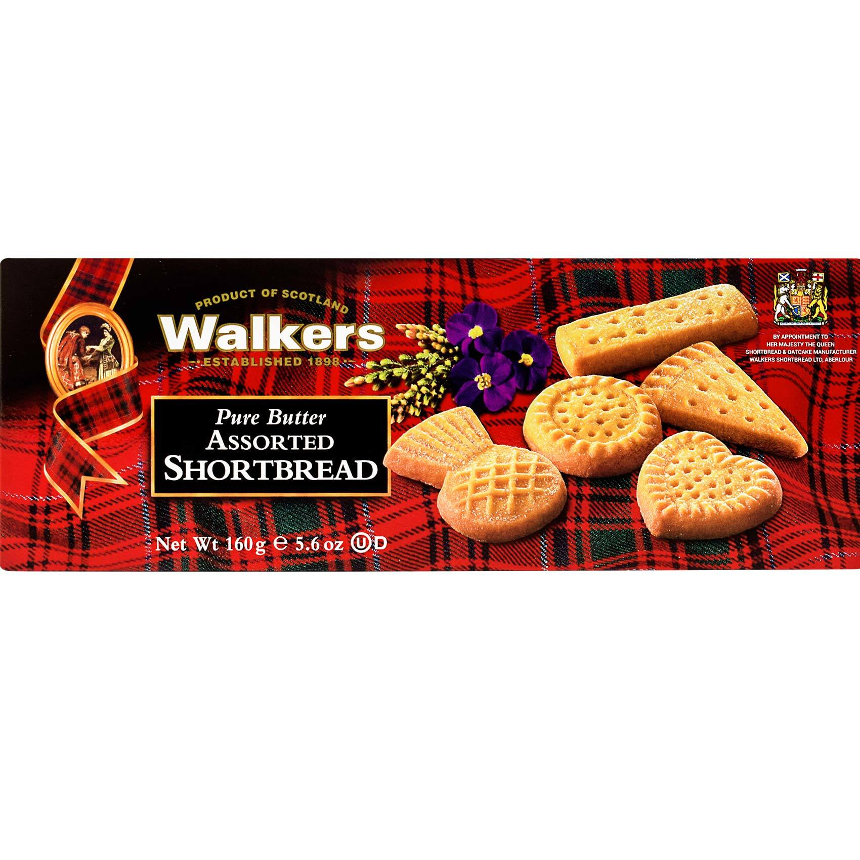 WALKERS BISCUIT SHAPES 160GR