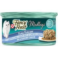 Purina Fancy Feast Medleys Tuna Tuscany Wet Cat Food 85g
