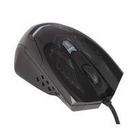 CROWNMICRO Mouse Gaming CMXG-1100 6 Buttons Black