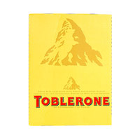 Toblerone Little Minis Swiss Milk Chocolate With Honey & Almond Nougat 35g X24