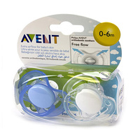 Philips Avent Orthodontic Soothers Free Flow 0-6 Months
